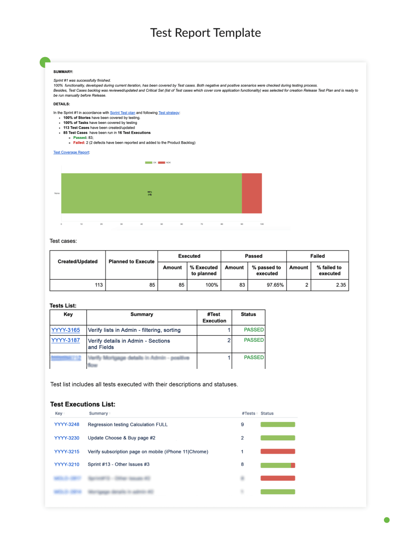 project-management-communication-plan-test-report-template
