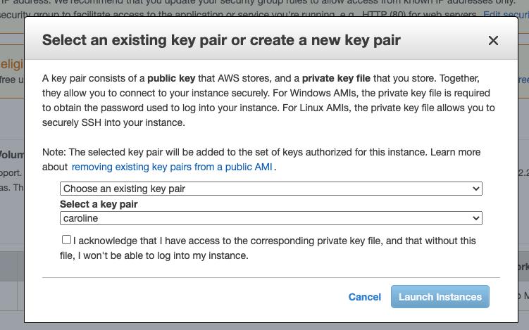 Instance Key