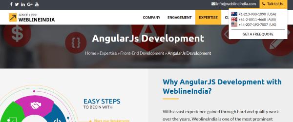 Top 10+ Trusted AngularJS Development Companies & Developers - DEV
