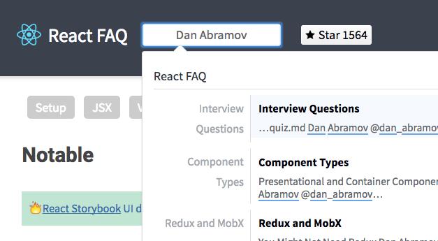 React FAQ