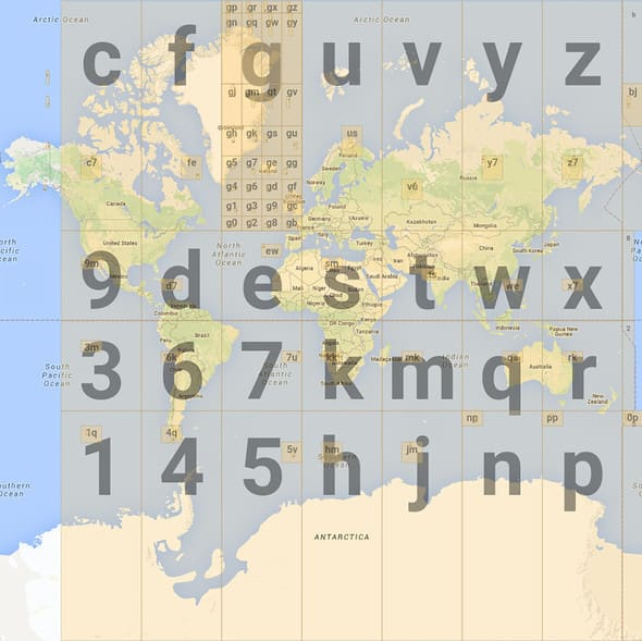 Geohash grid