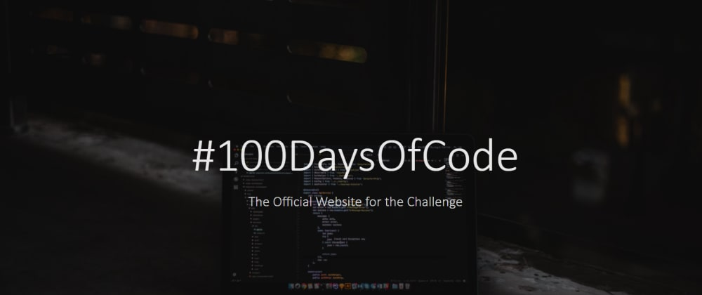 Cover image for Why #100DaysOfCode?