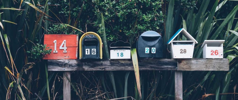 Cover image for Email Signup Forms with Gatsby and Mailchimp