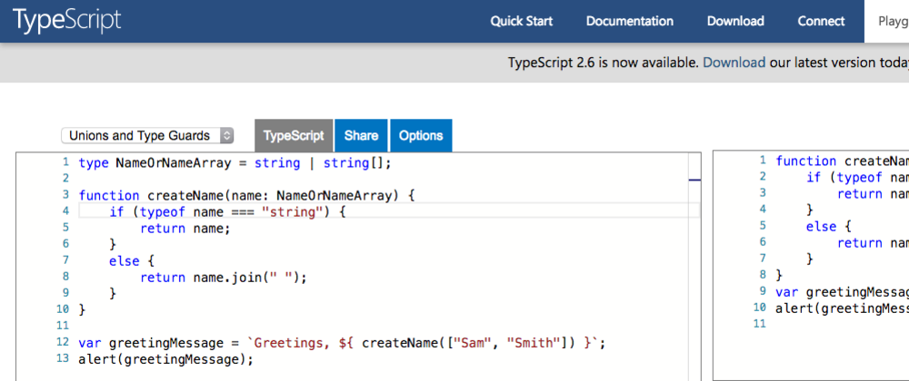 Consider Using TypeScript