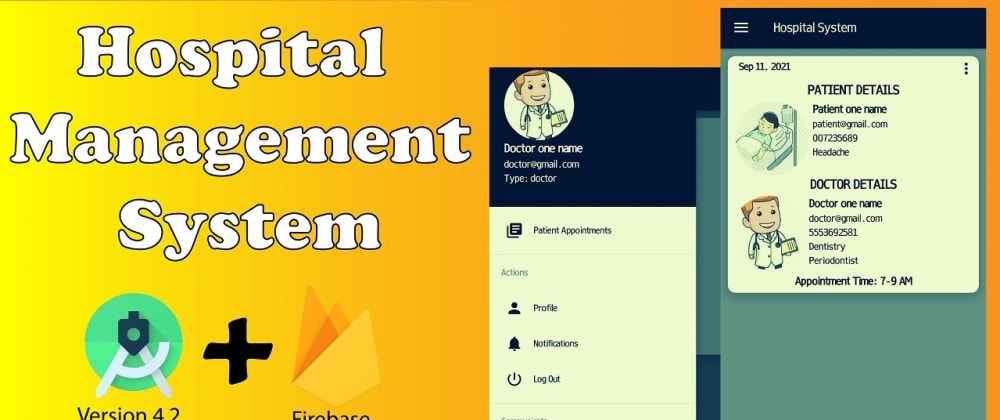 Cover image for Hospital Management System With Android Studio
