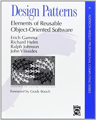 Design Patterns Elements Reusable Object Oriented cover