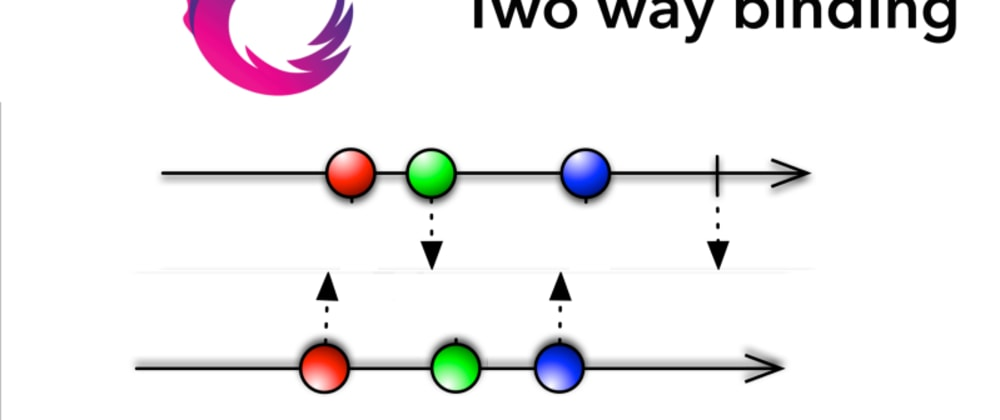 Cover image for RxSwift Reverse observable aka two way binding