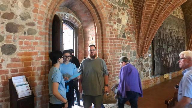 Sightseeing at Trakai with Kyle Simpson
