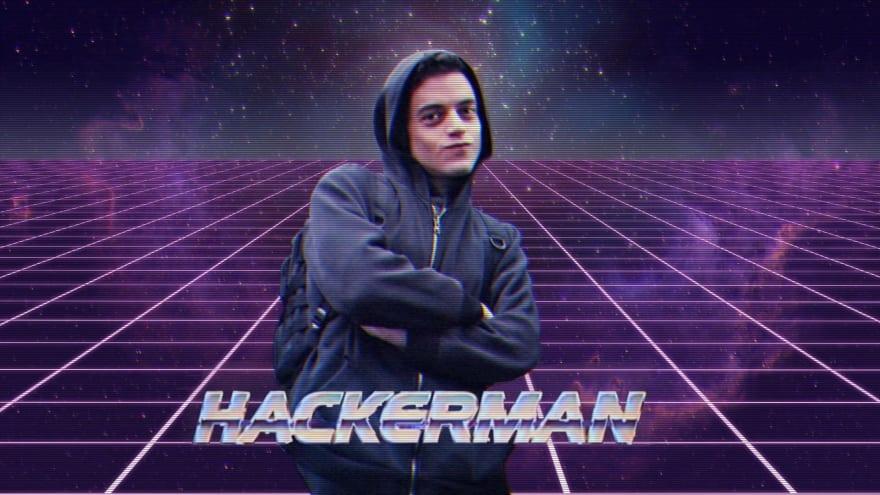 MR Robot Hacker man