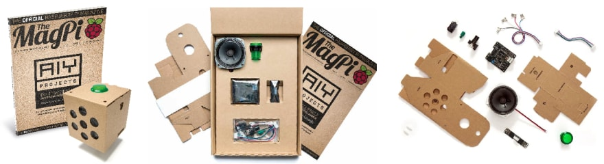 The kit came bundled with issue #57 of The MagPi