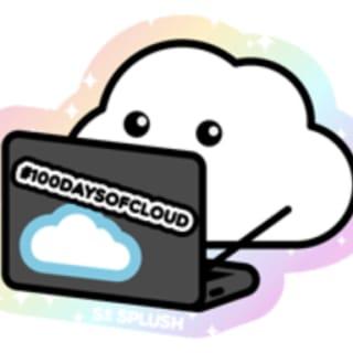 100DaysOfCloud logo