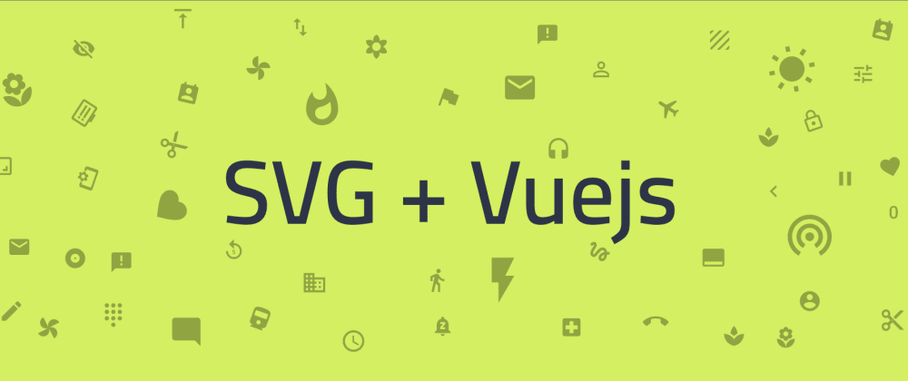 Cover image for Use SVG Icons with Vue.js