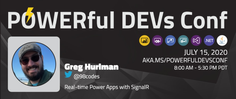 Cover image for Real-time Power Apps with SignalR