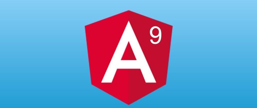 Cover image for Getting Started with Angular 9