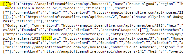 Array of Hashes