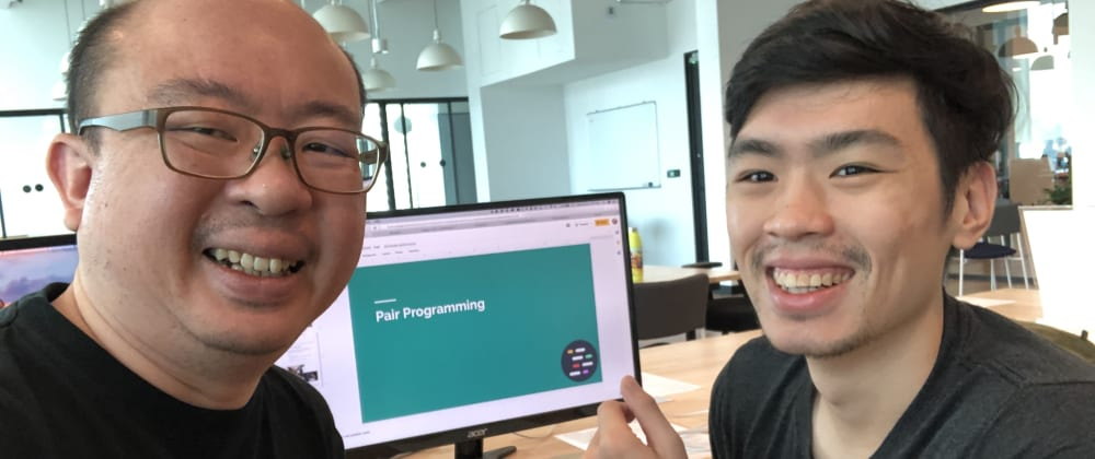 "Cover image for Pair-Programming with CoderKungfu - sharing the ""gospel"" of pair-programming"