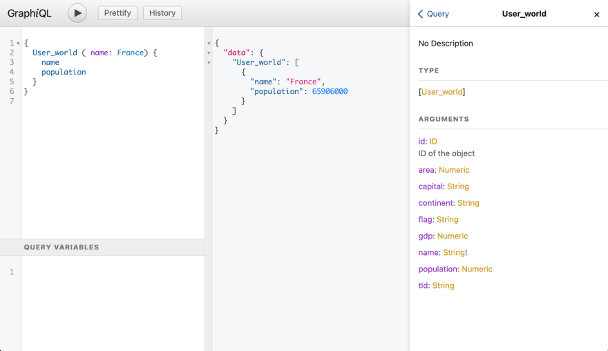 This is what it looks like in the browser