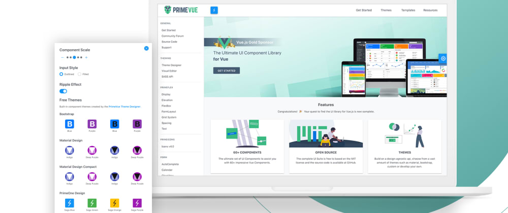 Cover image for Found a New UI Library for Vue: PrimeVue