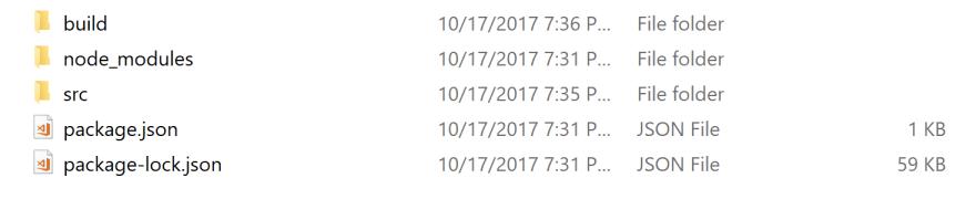 Demo folder snapshot