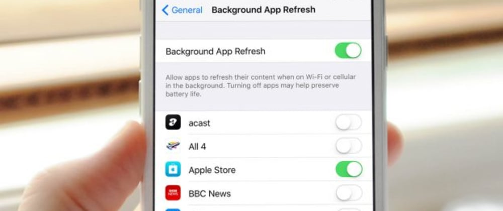 Cover image for How to use BackgroundTasks framework to keep your iOS app content up to date?