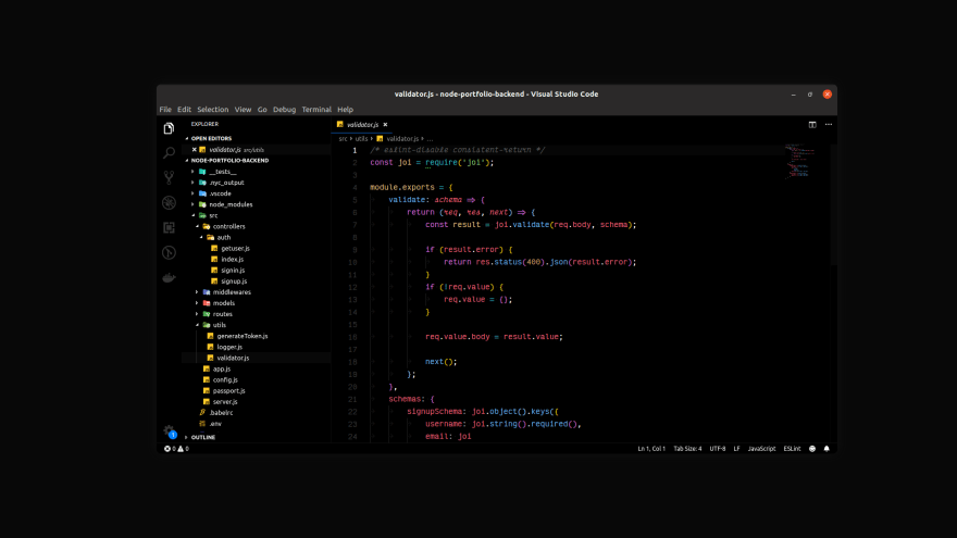 Signed Dark Pro VS Code theme