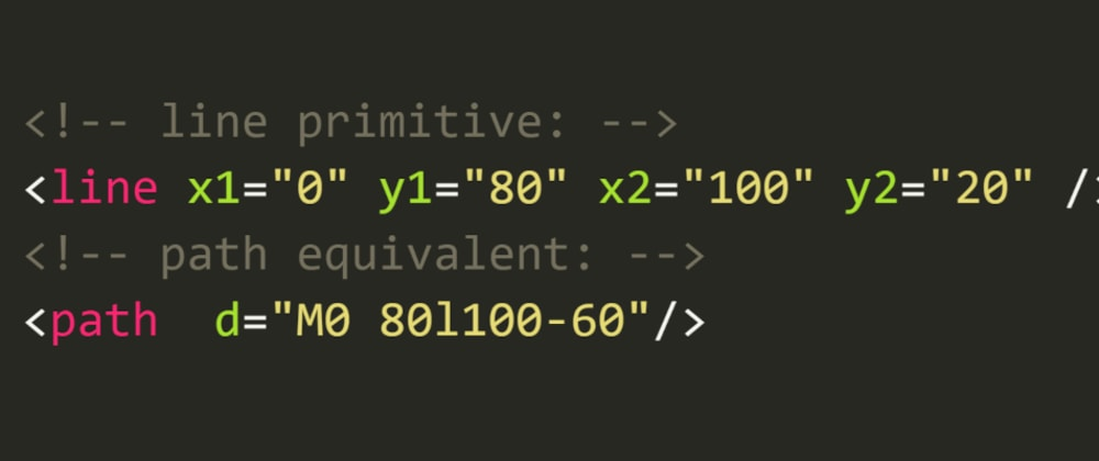 Cover image for Shrinking SVG code: ❮path❯ not always bigger
