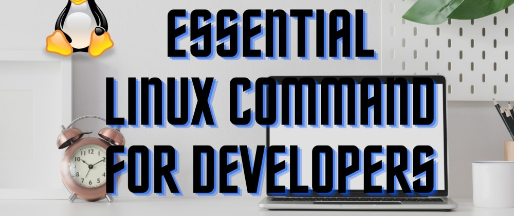 Cover image for Essential Linux Command For Developers