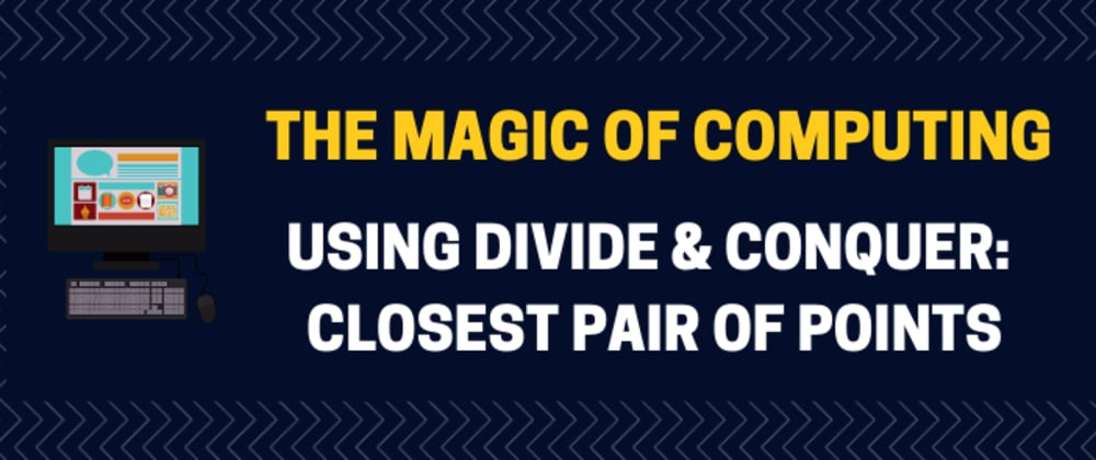 Cover image for Using divide and conquer: closest pair of points