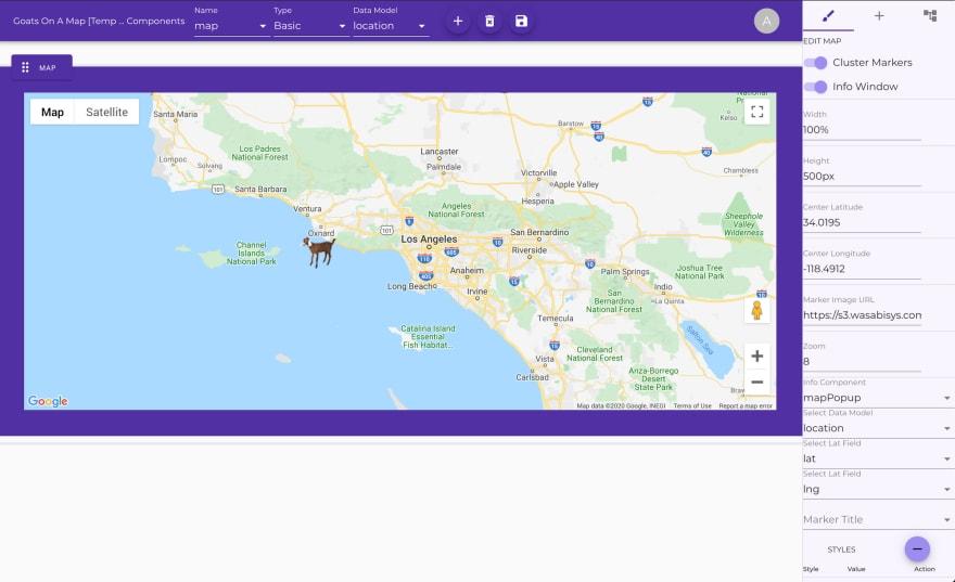 no-co google maps component