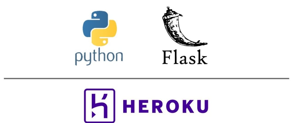 Cover image for Deploying a Flask application on Heroku