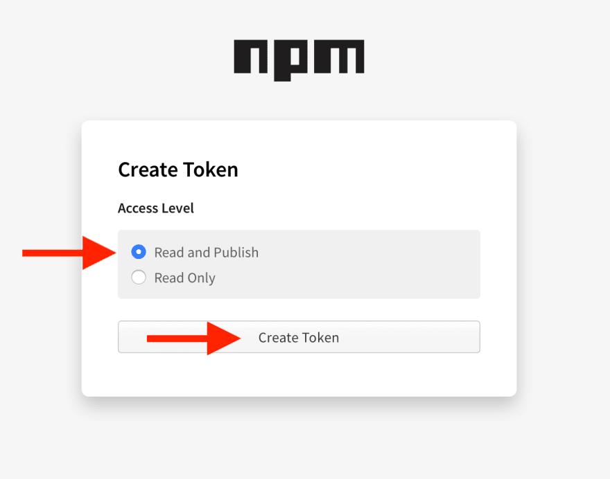 npm permissions