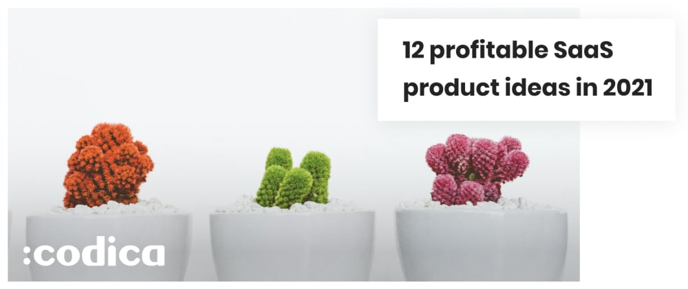 Cover image for 12 SaaS Product Ideas to Launch a Startup in 2021