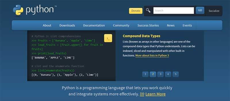 Programming Kit - Python Interpreter.