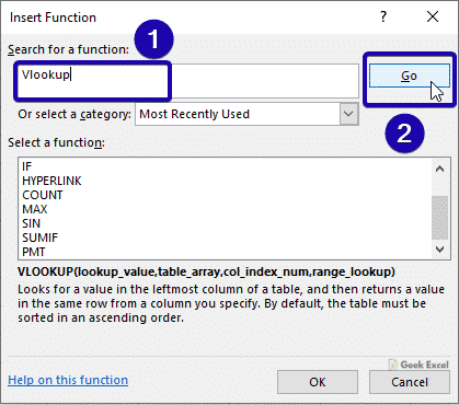 Search Vlookup
