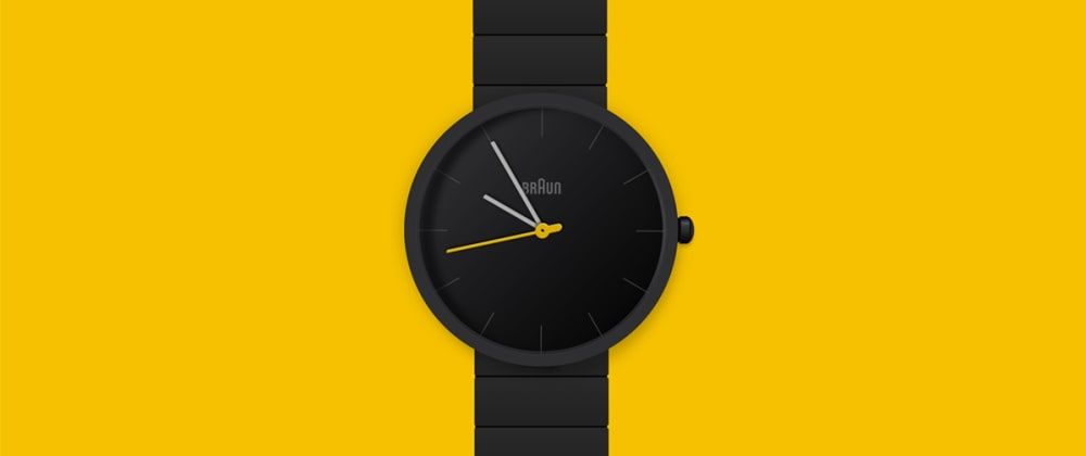 Cover image for Creating a Braun BN0171 Watch SVG animation