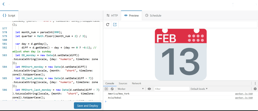 Icon preview in a Cloudflare Worker