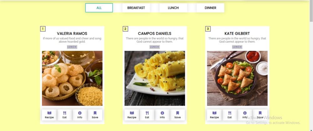 Cover image for Responsive Restaurant Website 🍔.