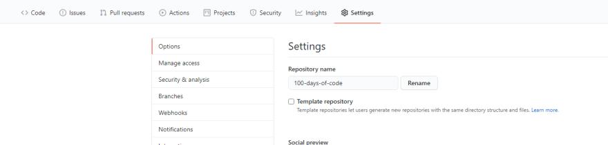 setting tab image