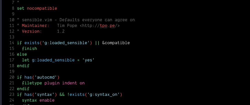 Cover image for Vim Configuration from Minimal to Complete