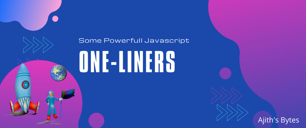 Cover image for Some Powerful Js One-liners