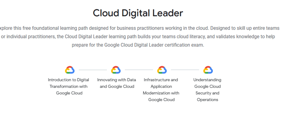 Cover image for GCP Cloud Digital Leader, a certification in search of an identity