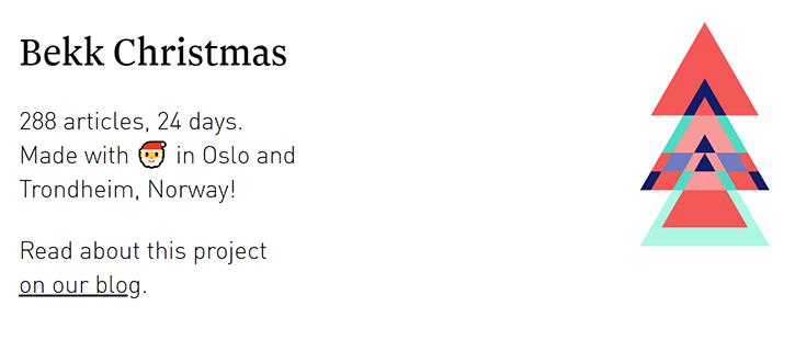 Bekk Christmas