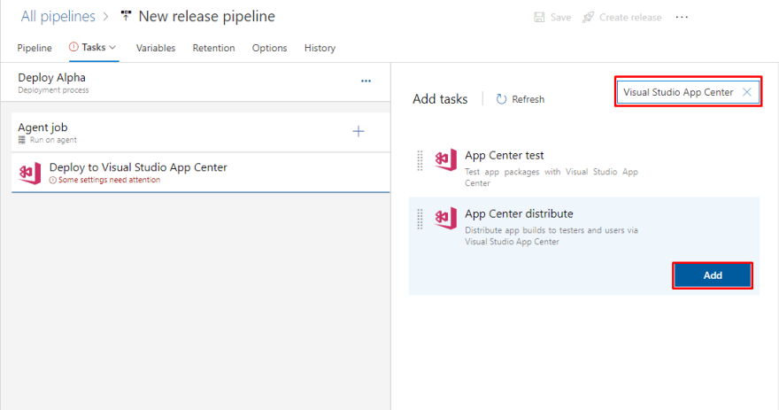 release-pipeline-new-task-visual-studio