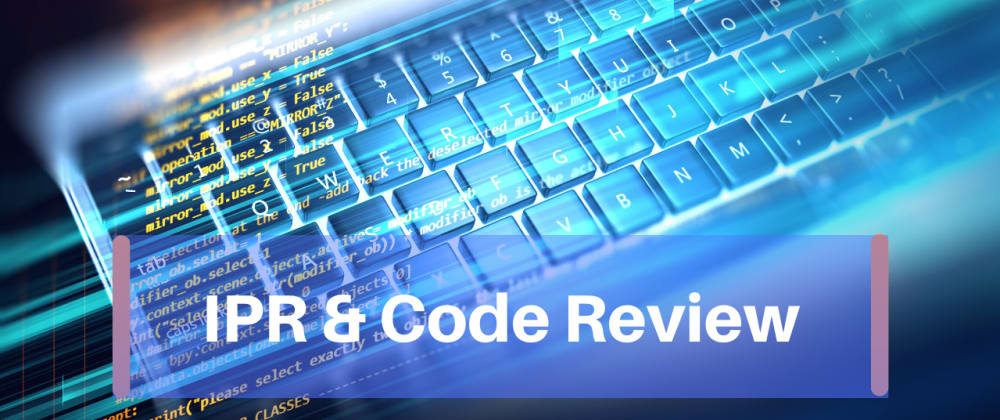 Cover image for ‎Intellectual property rights and Code Review
