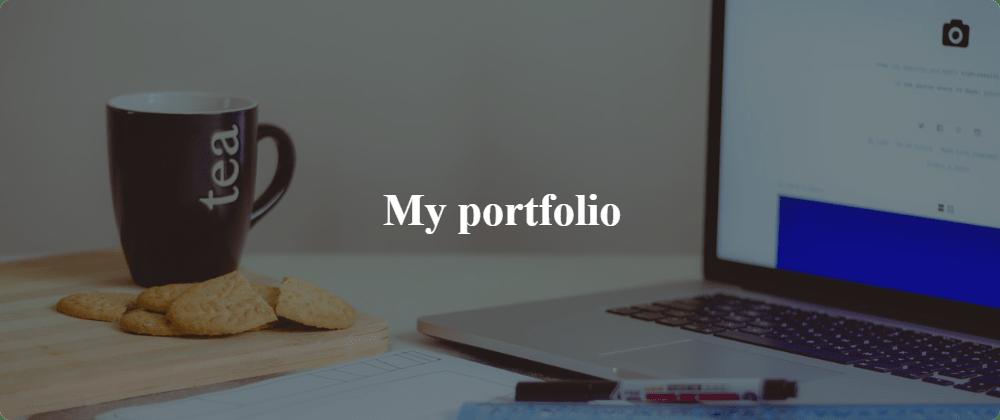 Cover image for My portfolio 📜