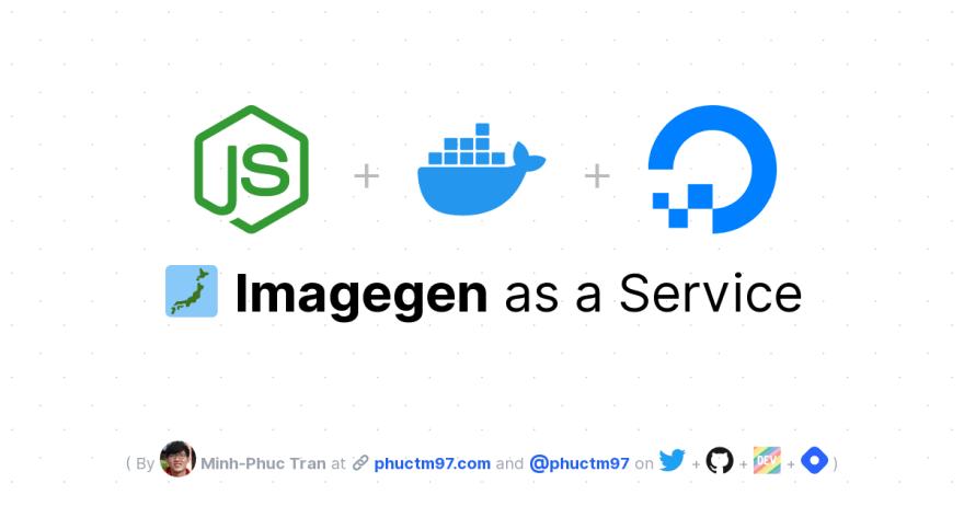 🗾 Imagegen as a Service