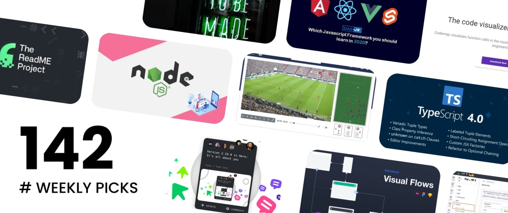 Cover image for 🔥 What's Hot in Web Development? — Weekly Picks #142