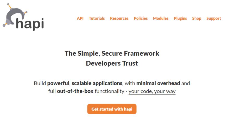 hapi framework