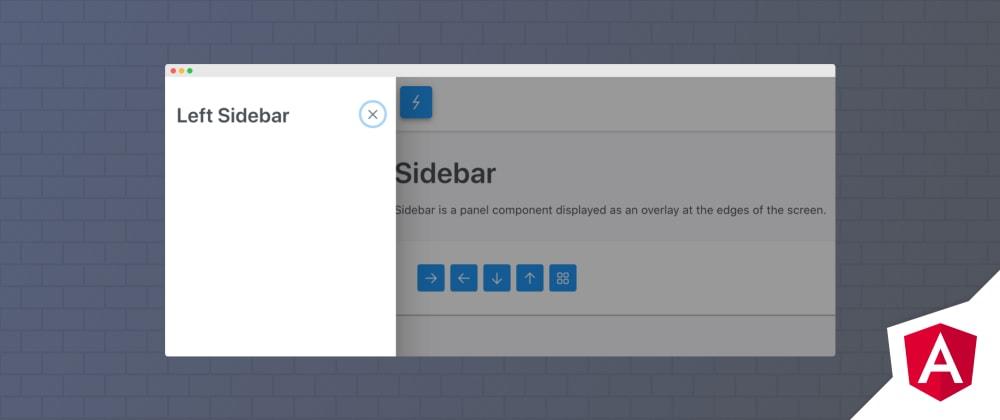 Cover image for Angular Sidebar