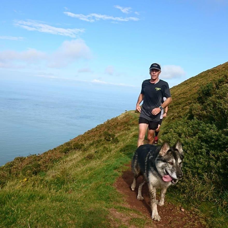 Running in Devon, UK